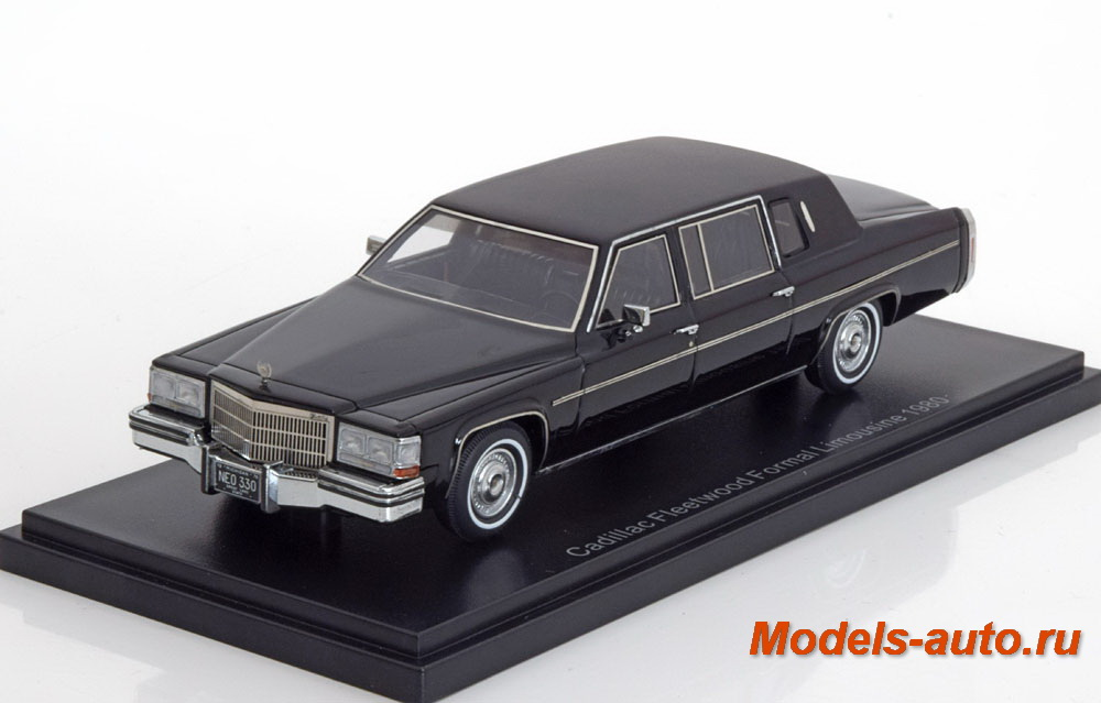 Cadillac Fleetwood Formal Limousine 1980 Black